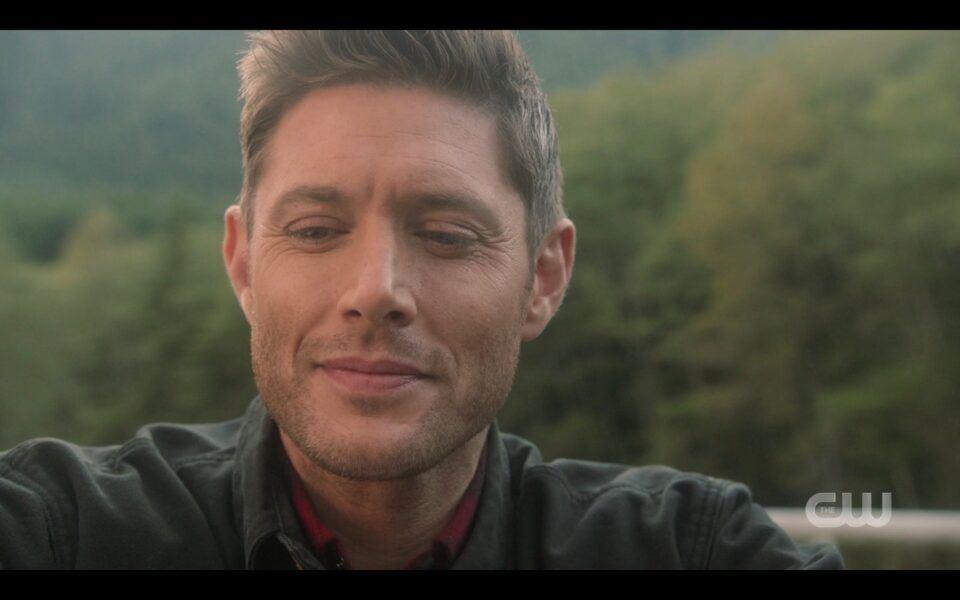 Jensen Ackles sad at Supernatural finale