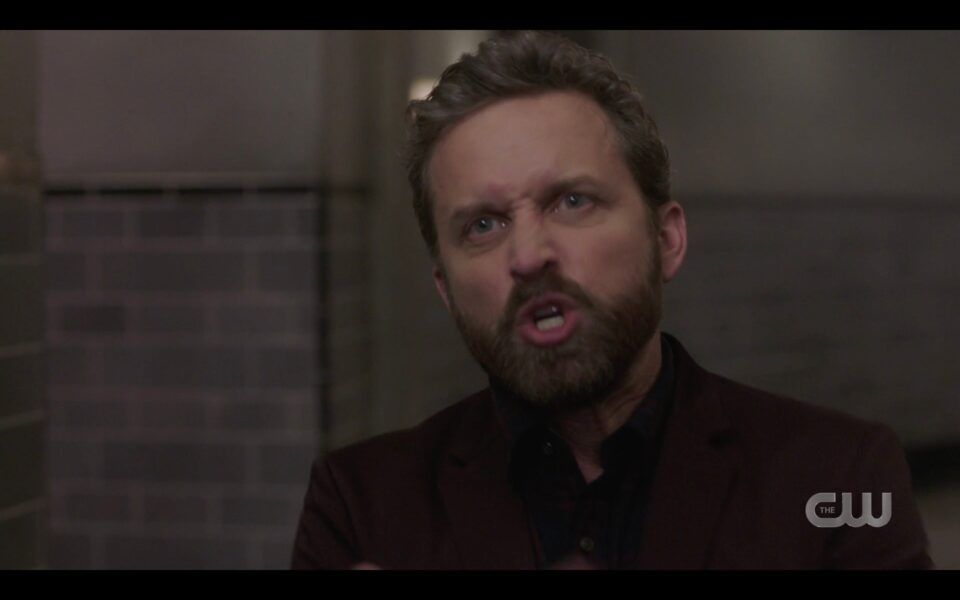 Rob Benedict Chuck screams at Winchesters You did it again UNity SPN