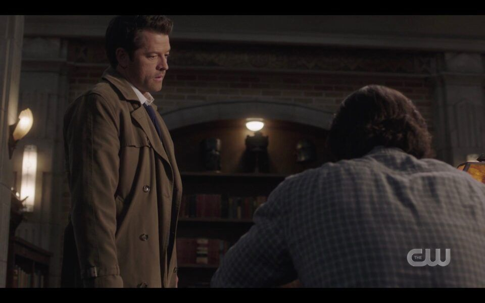 SPN Cas To Sam Winchester I will not let you end your life
