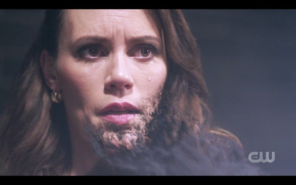 SPN Chuck merges with Amaras face and body