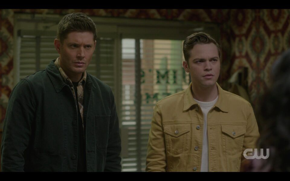 SPN Dean Winchester Jack watch Serafina and Adam making out again Unity