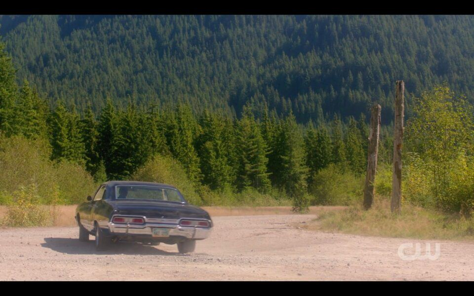 SPN Dean Winchester driving Baby in heaven finale