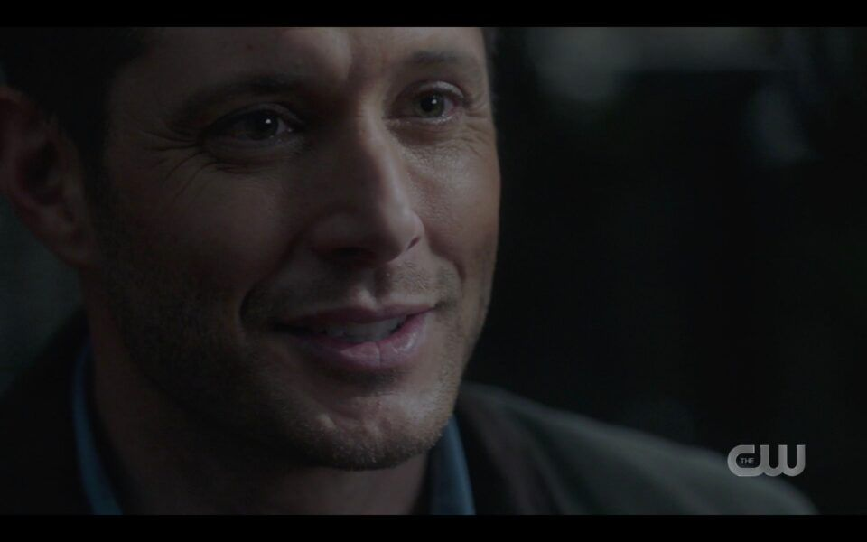 SPN Dean Winchester gives Sam one last smile before dying