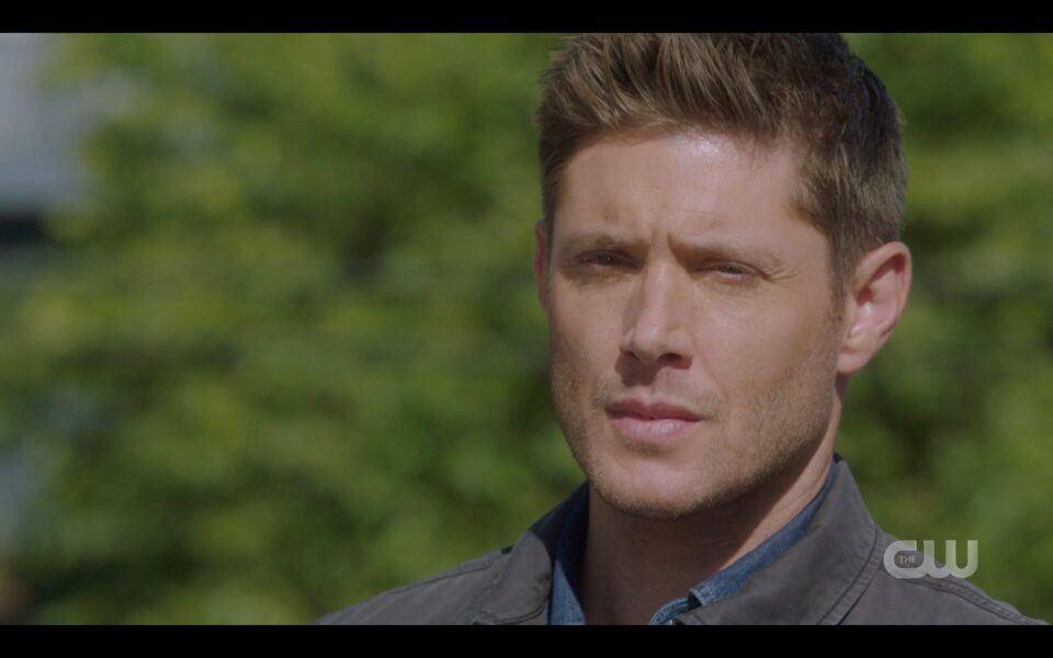 SPN Dean Winchester goodbye to Jack God 1519