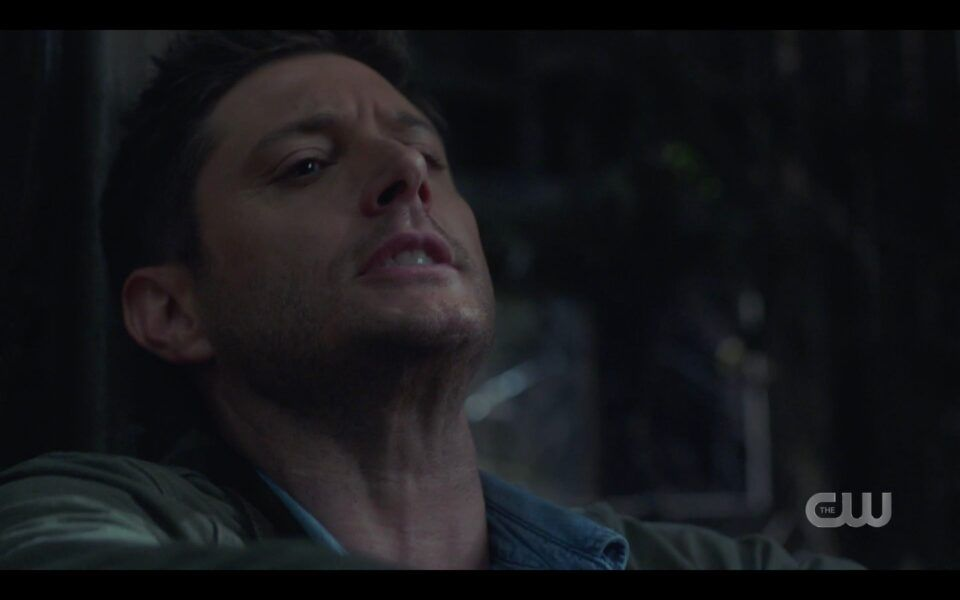 SPN Dean Winchester impaled by clownpire with rebar 1520