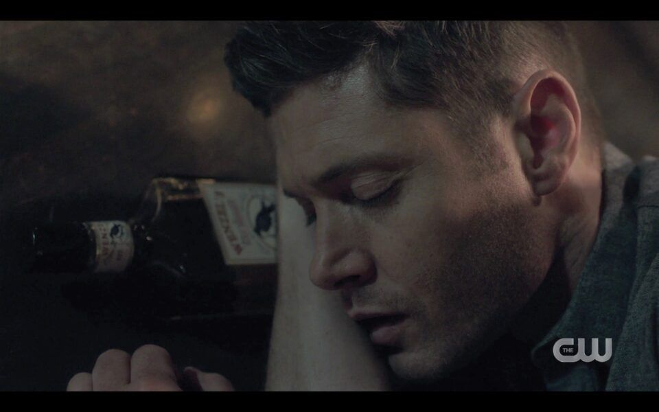 SPN Dean Winchester passed out drunk in bunker bed 1519