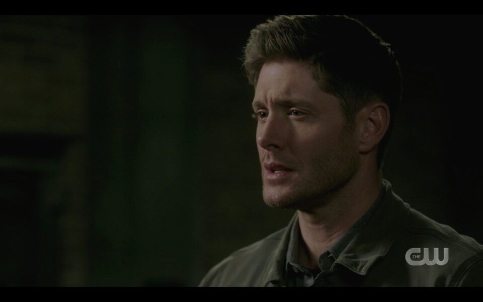 SPN Dean Winchester reacts to Castiel saying goodbye 1518