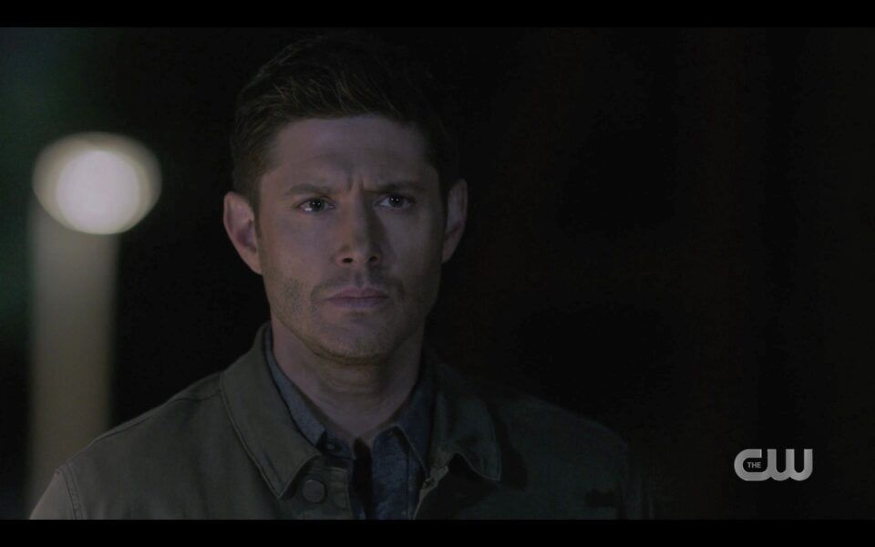 SPN Dean Winchester reacts to seeing Chuck back 1519
