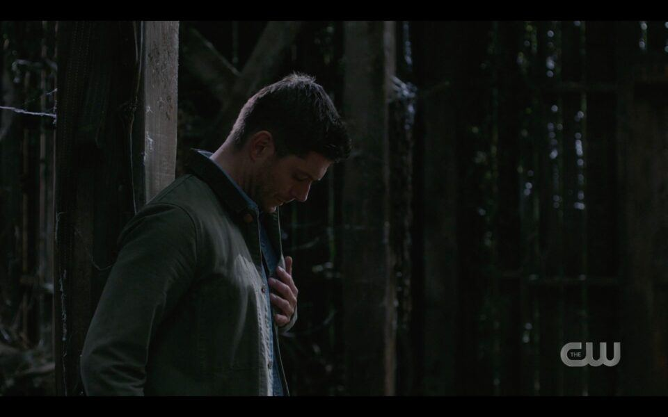 SPN Dean Winchester realizes he has been impaled finale
