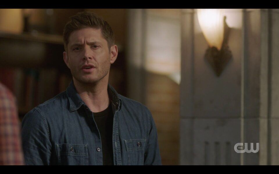 SPN Dean Winchester to Betty You've been death for like an hour