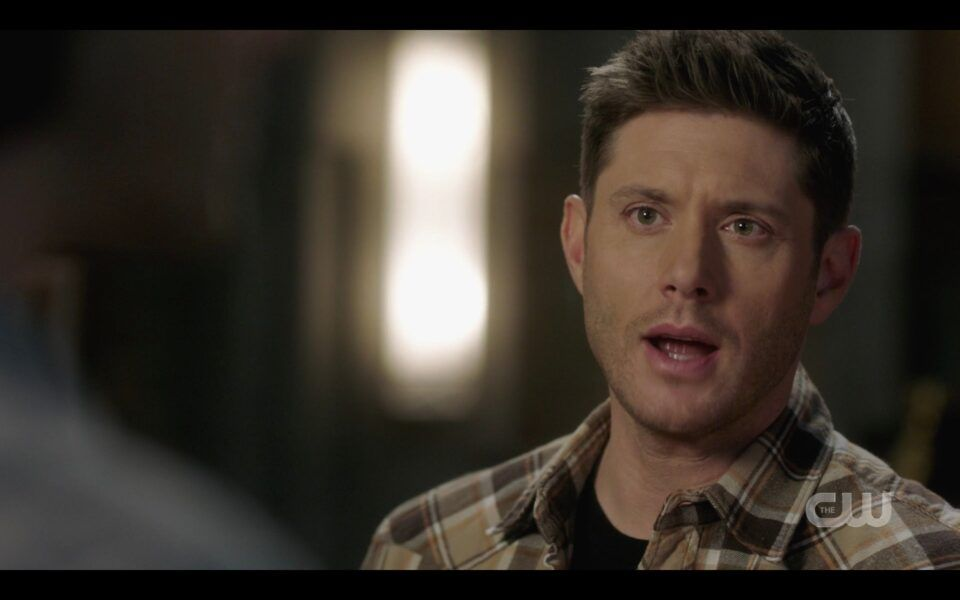 SPN Dean angry at Sam for giving him silent treatment 1517