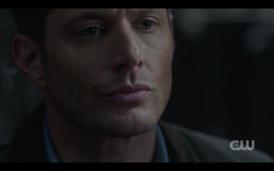SPN Dying Dean Winchester begs Sam to stay with him