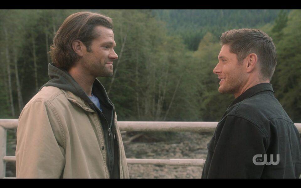 SPN Jensen Ackles Jared Padalecki longing looks for finale