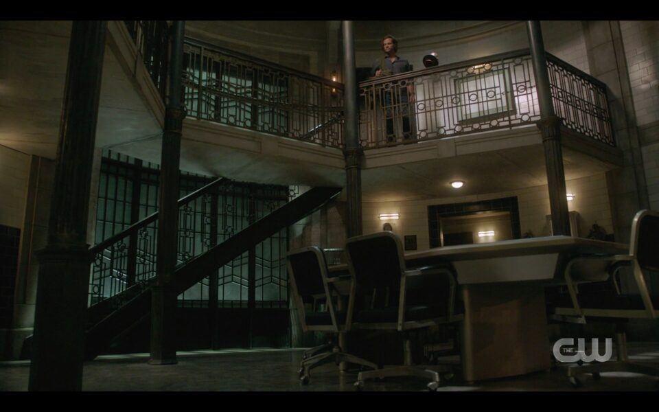 SPN Sam Winchester all alone in quiet bunker