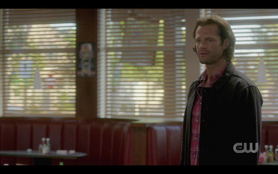 SPN Sam Winchester guilty for trying to rewrite chuck and hurting world 1519