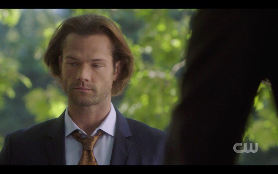 SPN Sam Winchester in FBI suit Or vampires