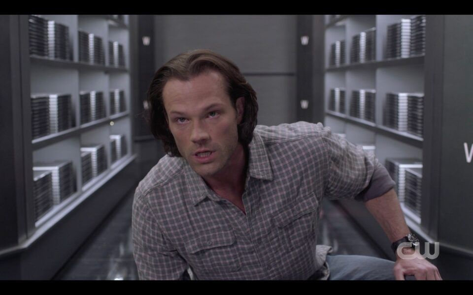 SPN Sam Winchester outsmarts The Empty with Chucks Death Book Unity