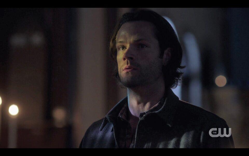 SPN Sam Winchester realizes Mikey allegiance to Lucifer in church 1519