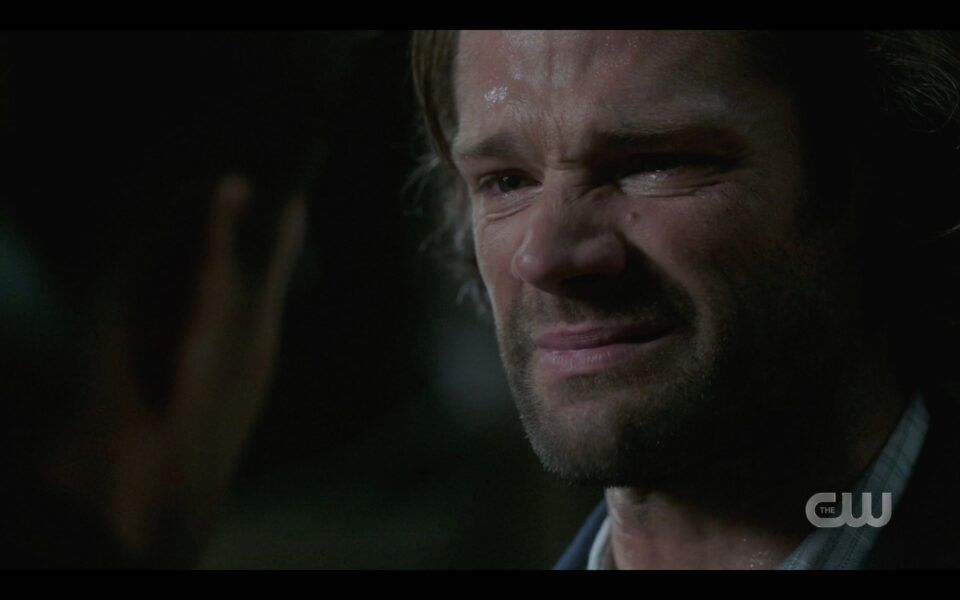 SPN finale Sam Winchester realizes Dean is really going to die this time