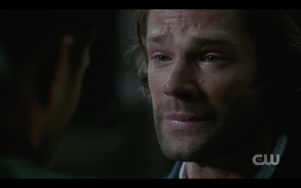 SPN finale Sam Winchester telling Dean he can let go now and die