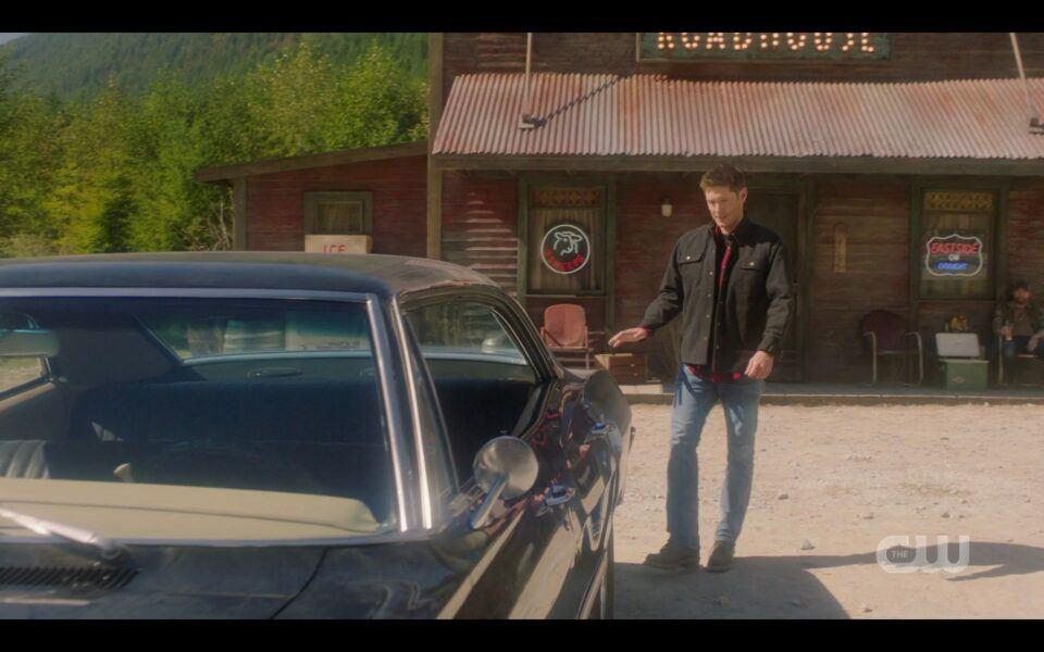 SPN finale dead Dean Winchester at Roadhouse in heaven