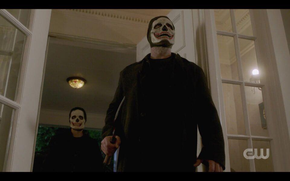 Supernatural Finale Clownpires coming through doors