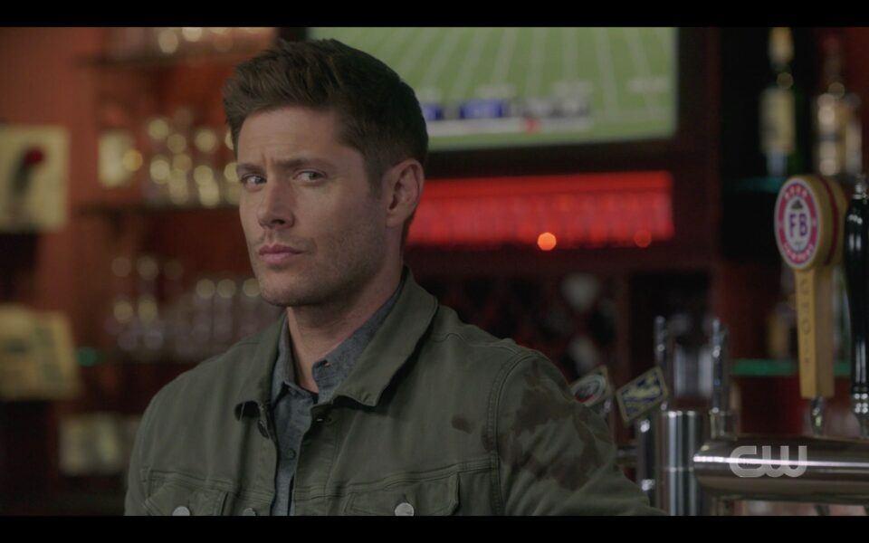 Supernatural homage to Jensen Ackles Family Business Beer 1519