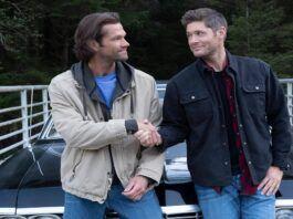 Supernatural jensen ackles shaking hands with jarod images