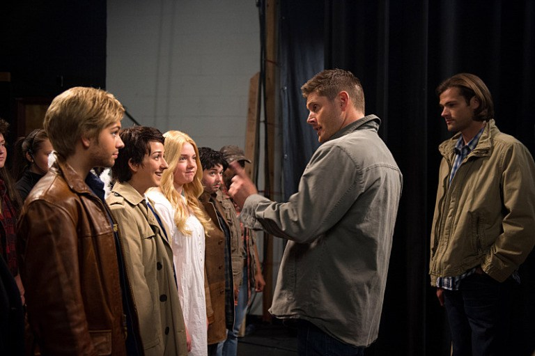 fan fiction supernatural winchester brothers with fans