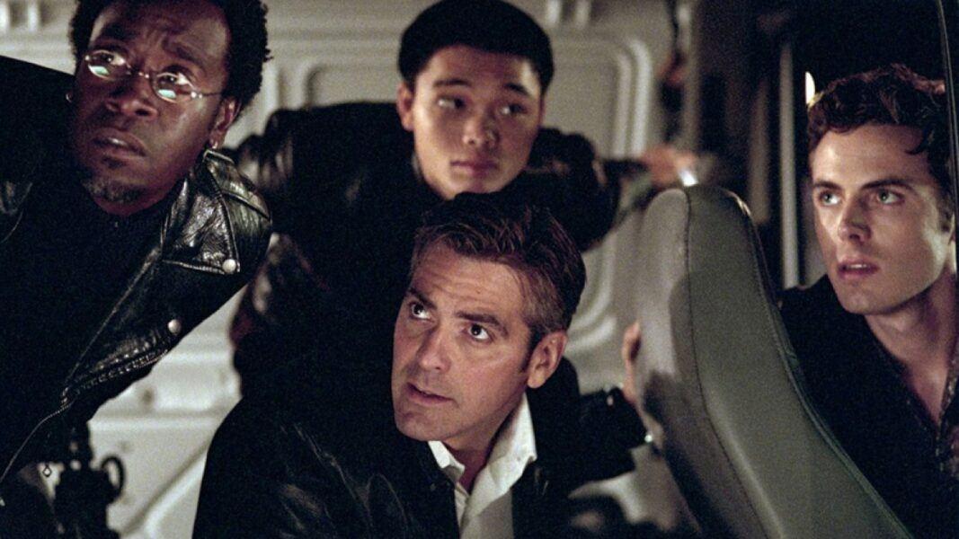oceans 11 famous heist scene films