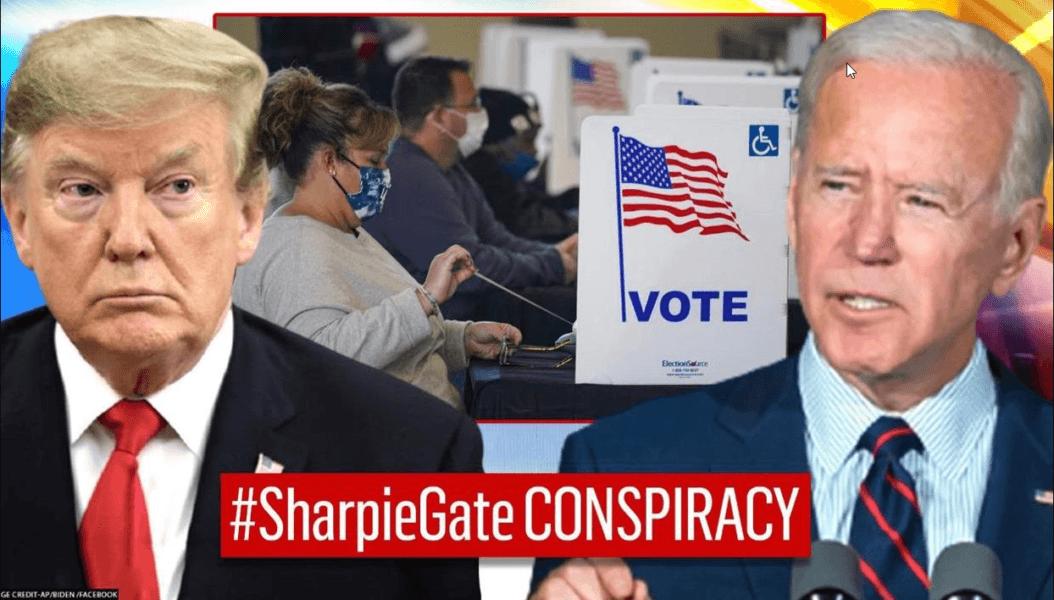 sharpiegate conspiracy from donald trump to joe biden not true