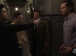 supernatural unity 1517 dean winchester pointing gun at sams chest mttg review