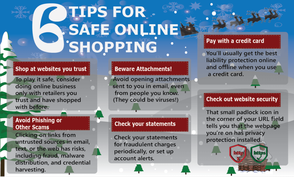 6 tips for safe online shopping 2020 holiday