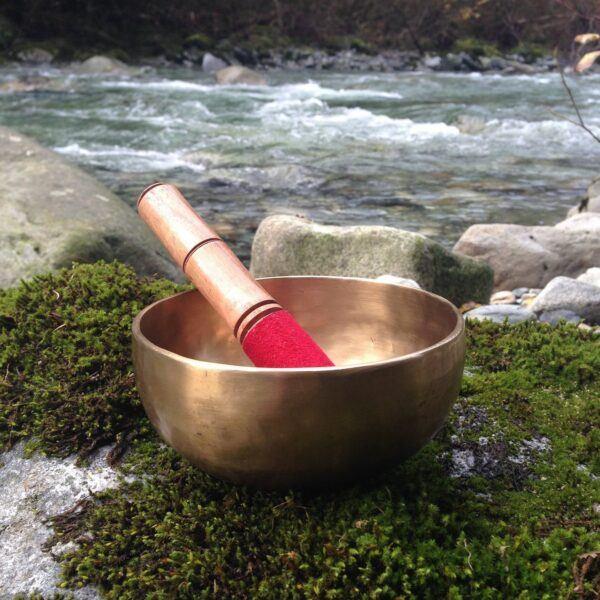 Buddha singing bowls by a bubbling brook hot holiday gifts