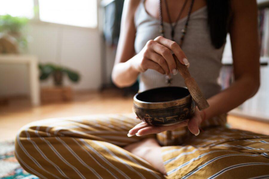 Tibetan Singing Bowl hot holiday yoga gifts 2020