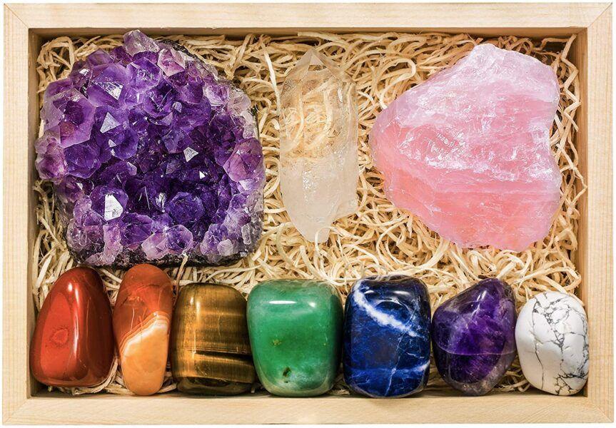 beautiful Crystals for Healing the Chakras hot holiday gifts 2020