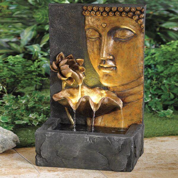 buddha water fountain hot holiday gift spiritual ideas