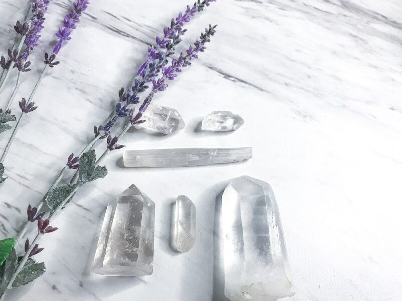 set of healing crystals top holiday gift ideas 2020