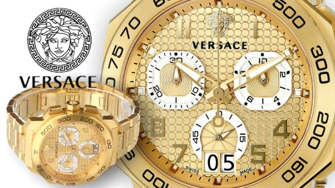 versace mens dylos chrono vqc040014 hottest watches holiday gifts 2021