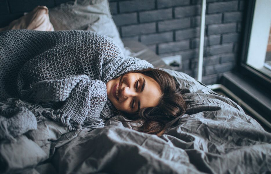 weighted blanket best holiday gift ideas 2020