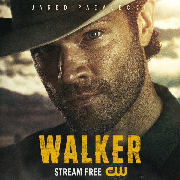 Jared Padalecki as WAlker with cowboy hat poster