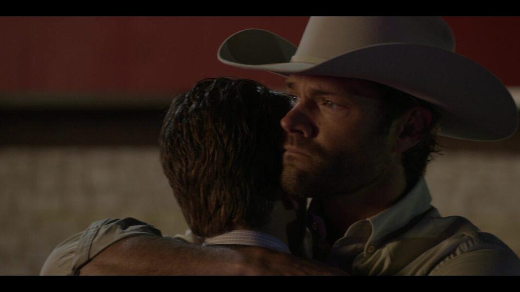 Walker 105 Jared Padalecki hugging brother Liam tigher