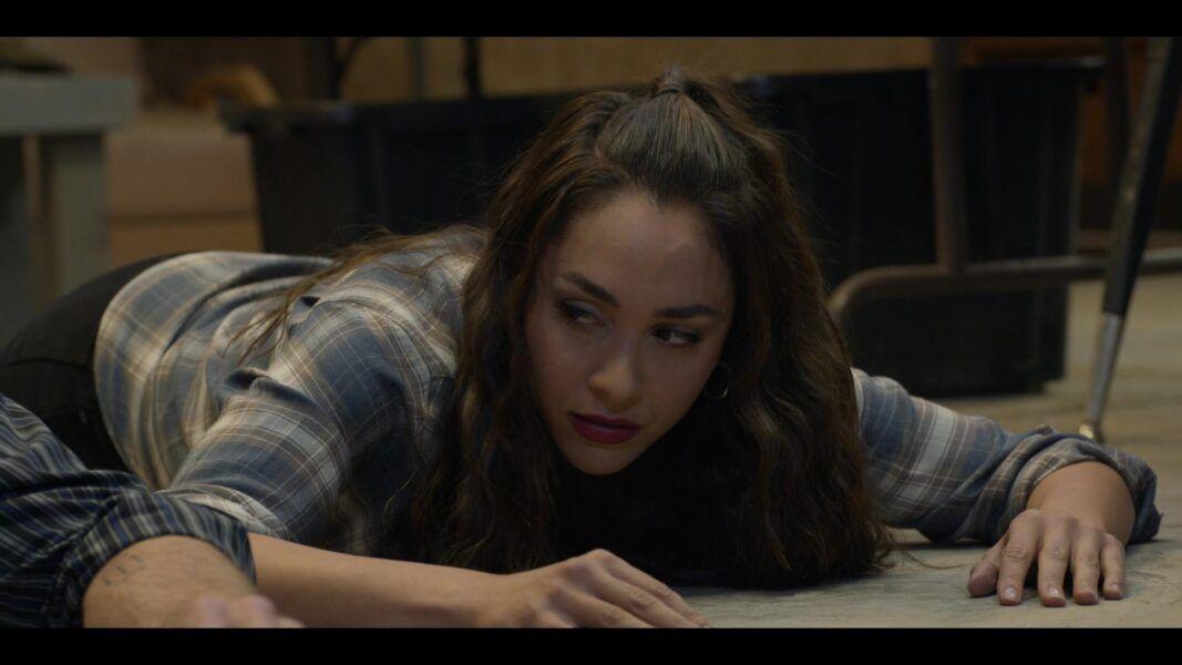 Walker Adriana on floor from gun with Twyla 105