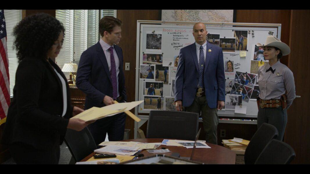 Walker James Tessa asking Cordell to go undercover