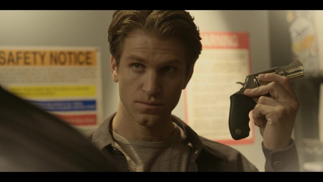 Walker Liam meets Cordell in backroom at karaoke bar