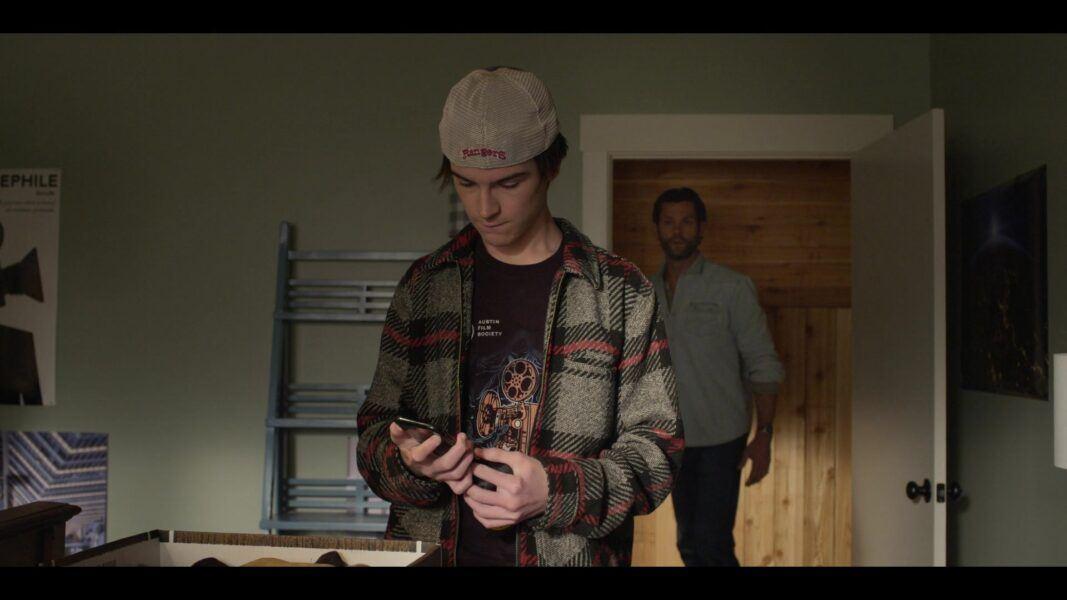 Walker finds box of Rangers Hat for Jared Padalecki and secret stash