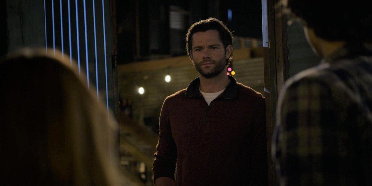 Walker Jared Padalecki catches Stella almost kissing Trevor in barn
