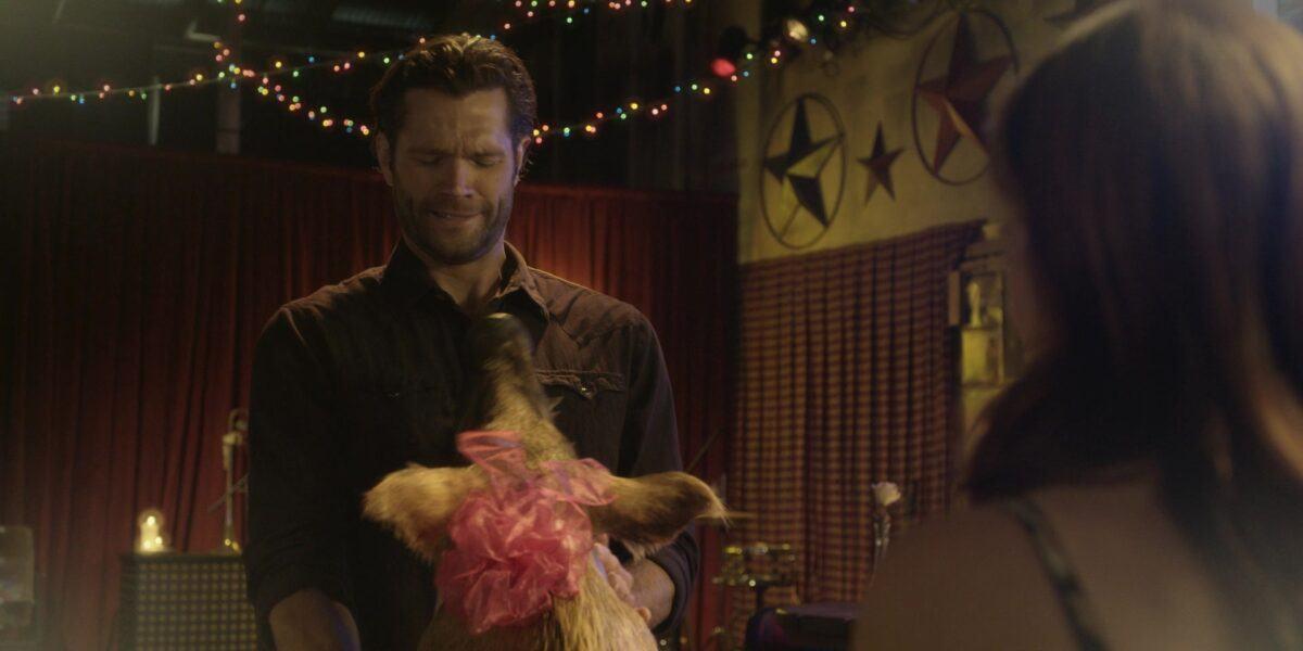 Walker Jared Padalecki getting Denise boars head as gift