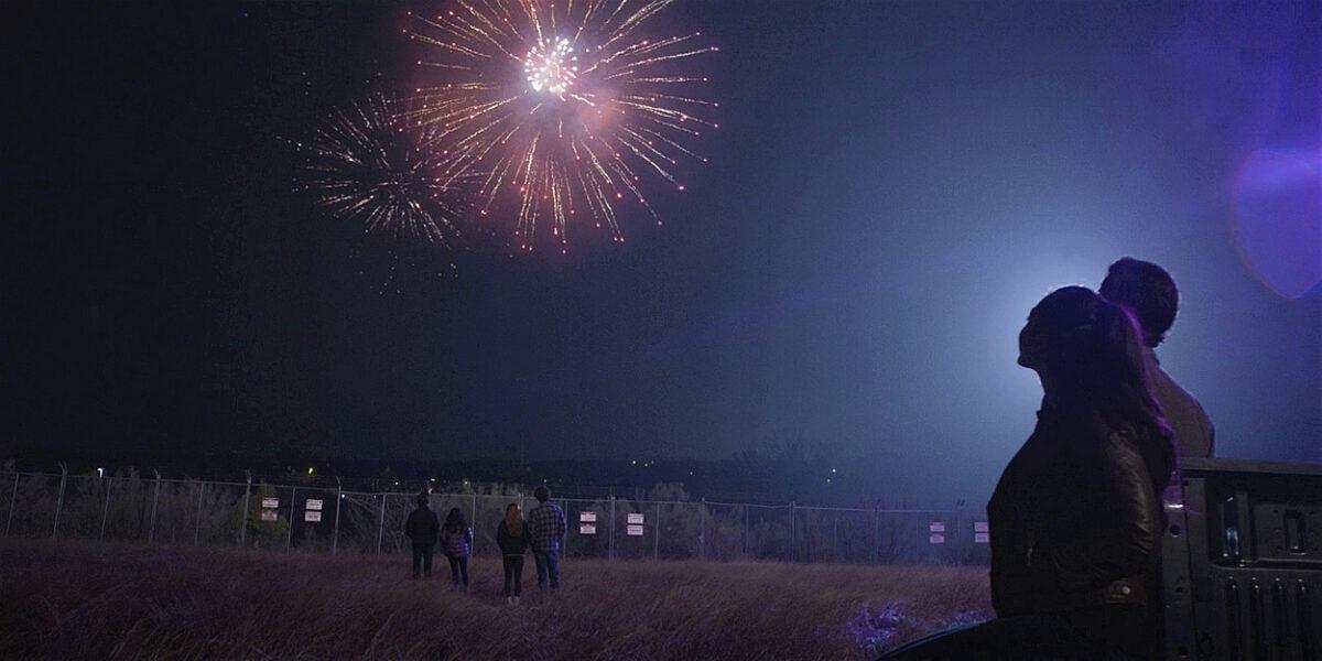WAlker Augie sets off fireworks for sister Stella with Trevor 107.