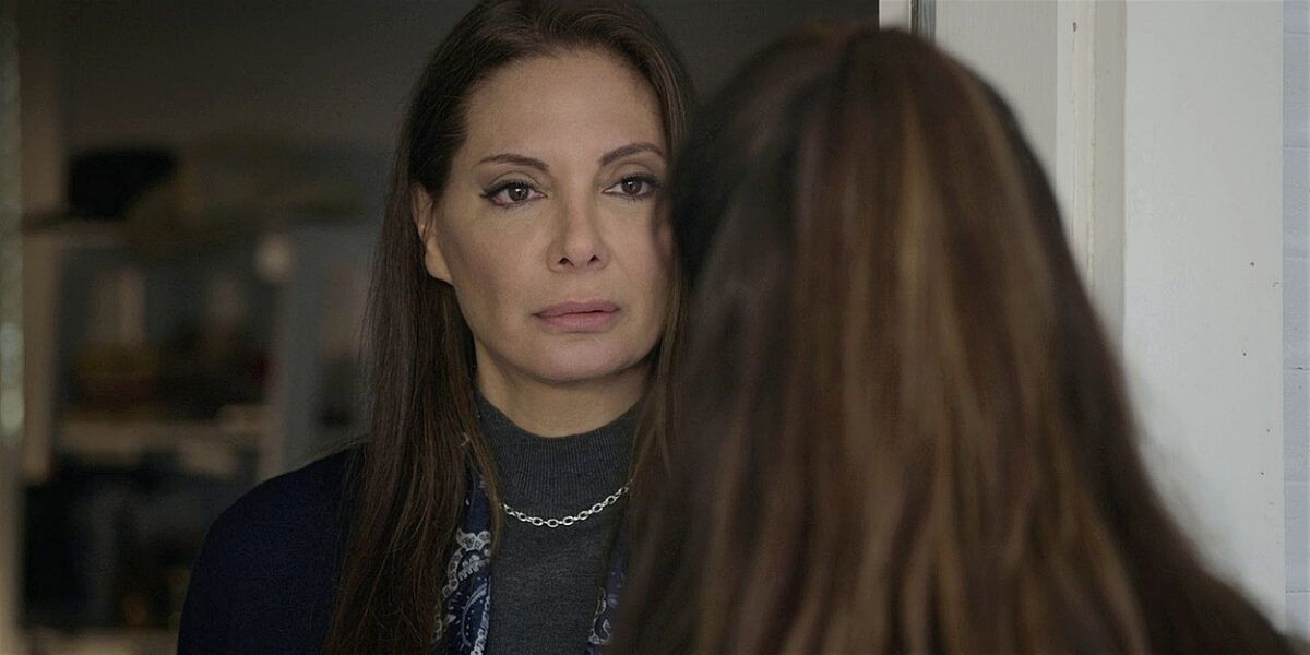 Walker Adriana tells Micki who her real mother is Tracks.